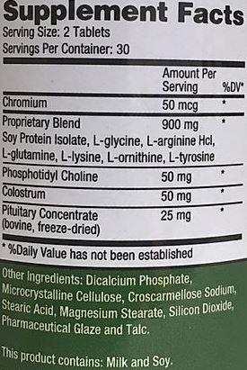 Growth Factor Plus Ingredients