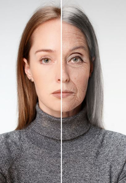 Anti Aging Before After
