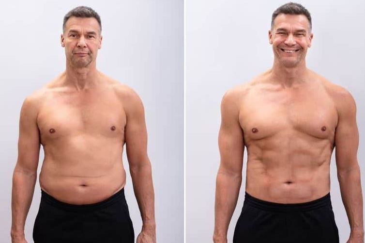 HGH Before After Results