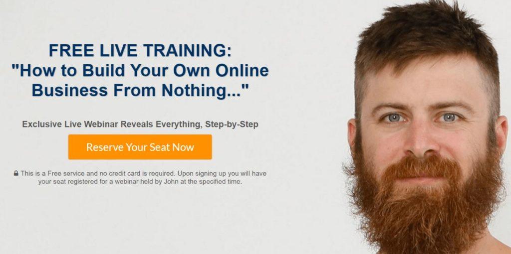 John Crestani Free Affiliate Training