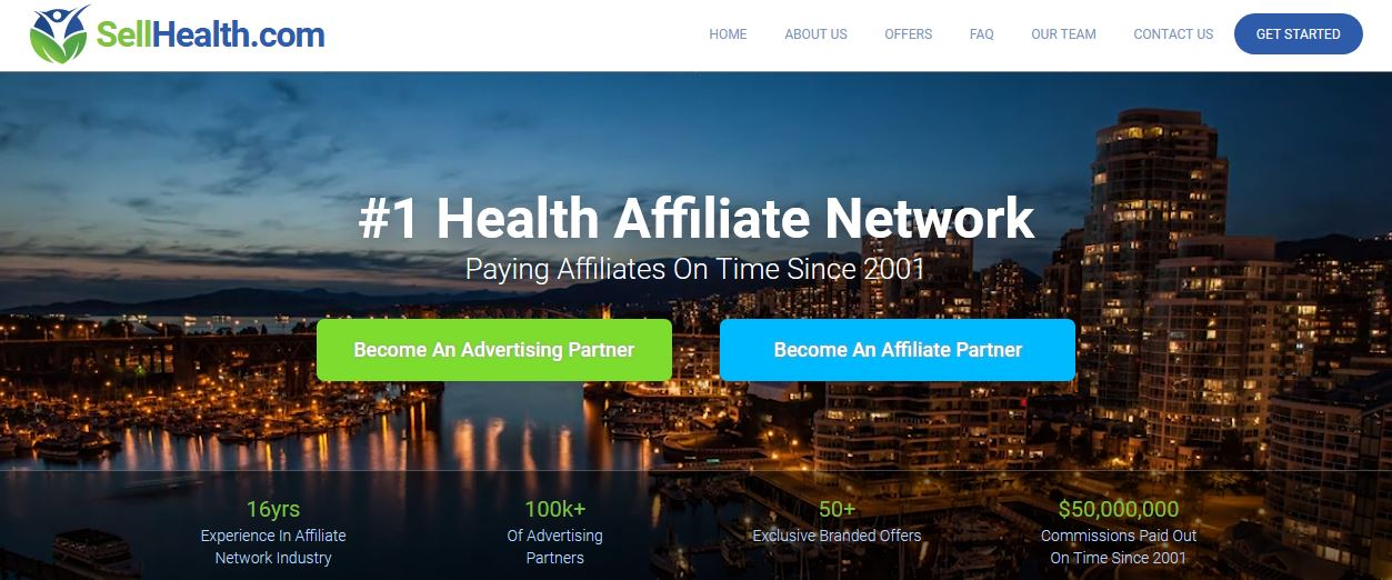 Sellhealth Affiliate program